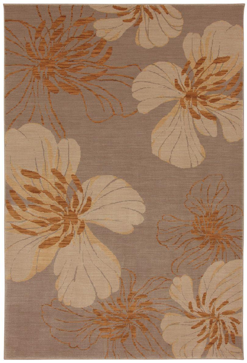 Carmel Flower Rug Botanical Rug Rugs On Carpet