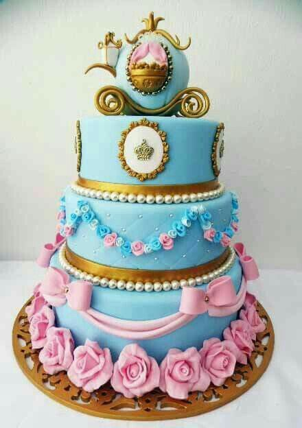 Cinderella Cake Beautiful CakesPastries Pinterest Cake