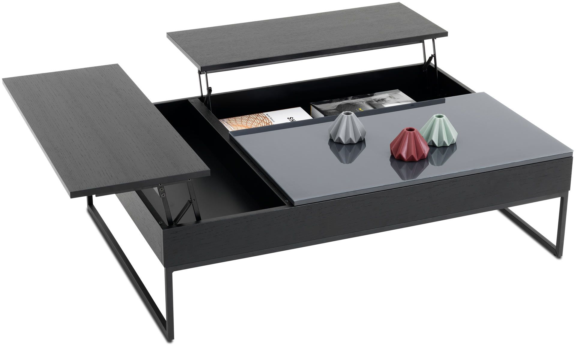 Smart storage though i know ikea used to do one so the price modern coffee tables contemporary coffee tables boconcept double lift top with storage geotapseo Gallery