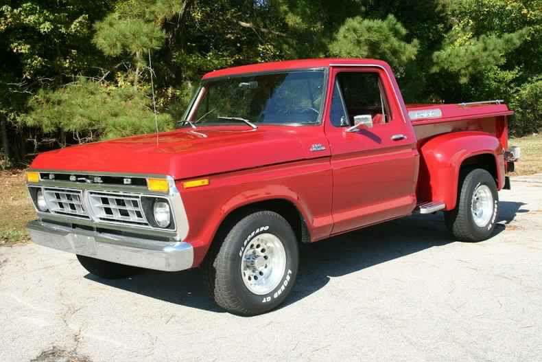 1977 302 3 Speed Manual Vintage Pickup Trucks Ford Trucks 1979 Ford Truck