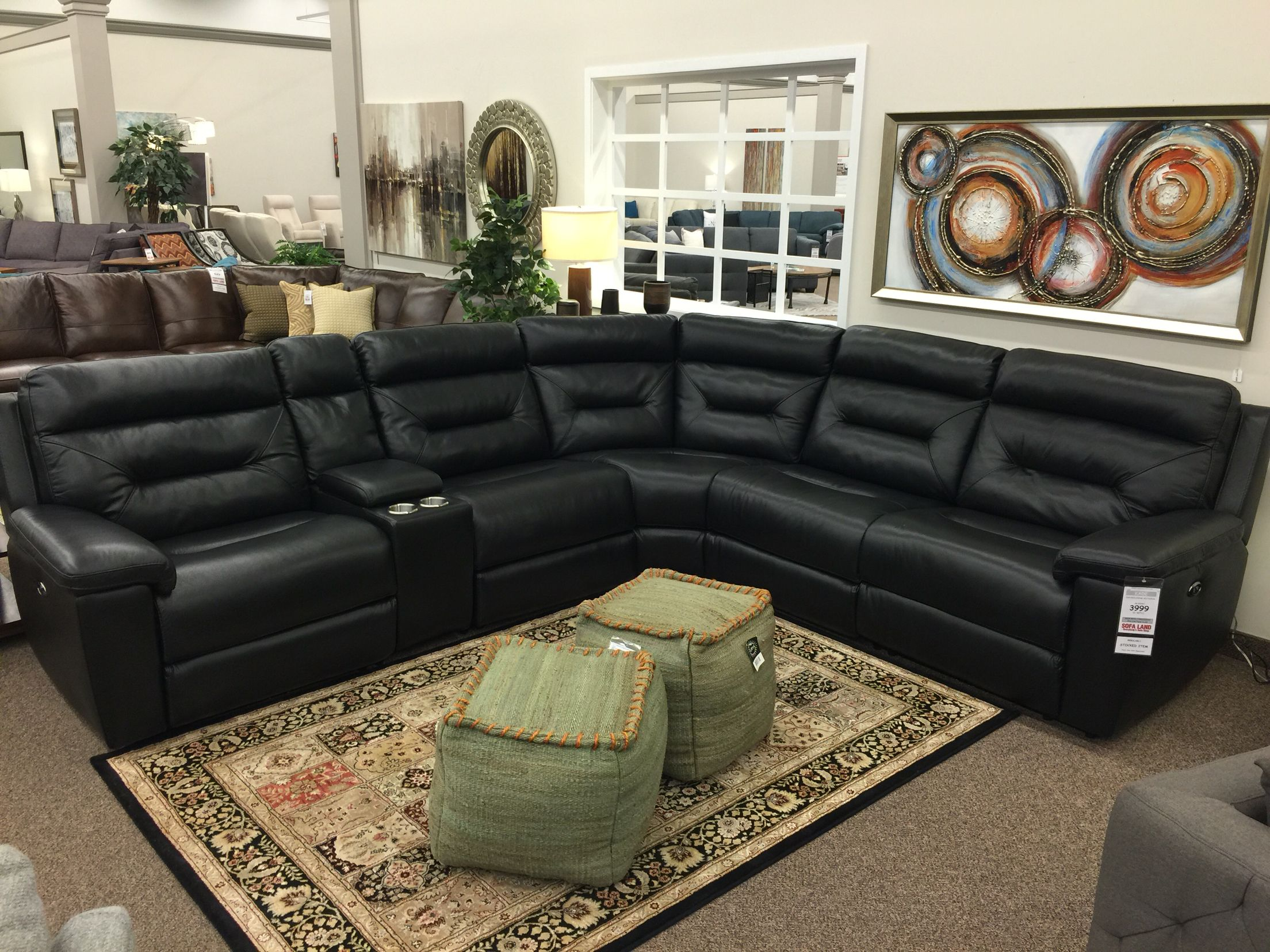 Sofaland Sectional The Kade Sectional Features Power Recliners That Can Easily Adjust