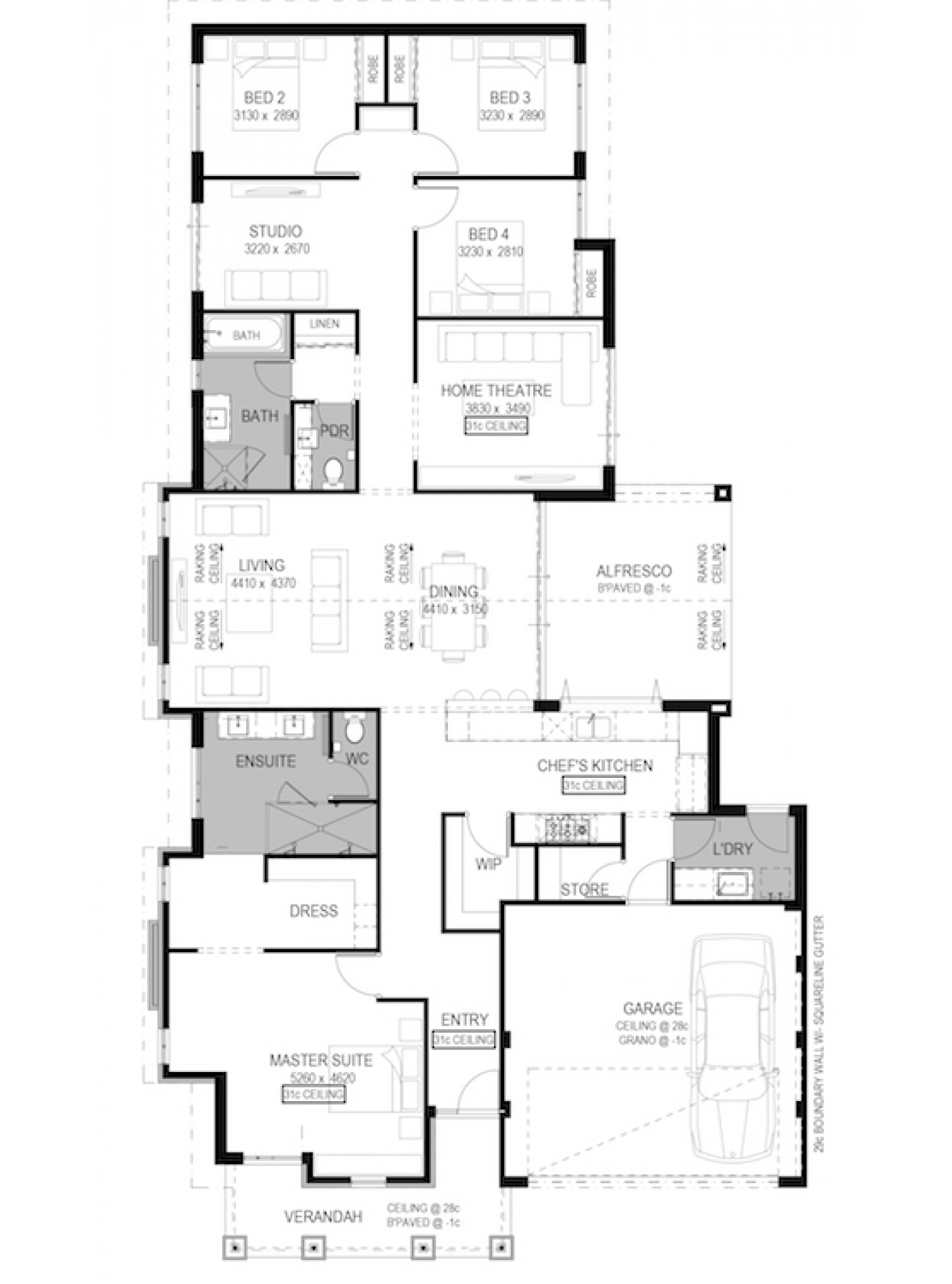 The windsor display home by national homes newhousing for Windsor homes floor plans