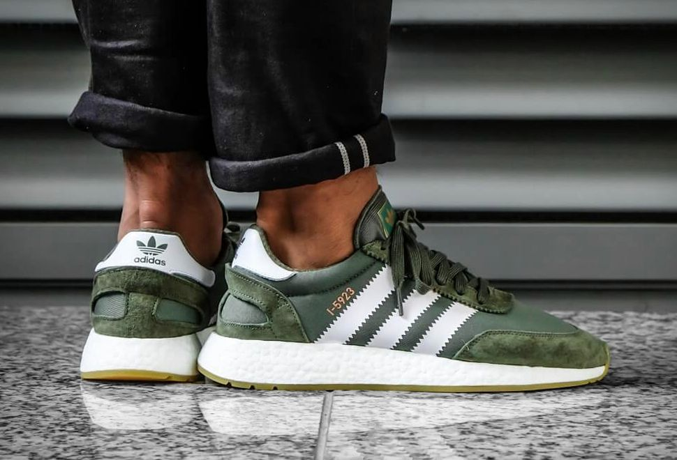 great quality high fashion discount sale ADIDAS I-5923 GREEN | Sneakers, Adidas, Green shoes