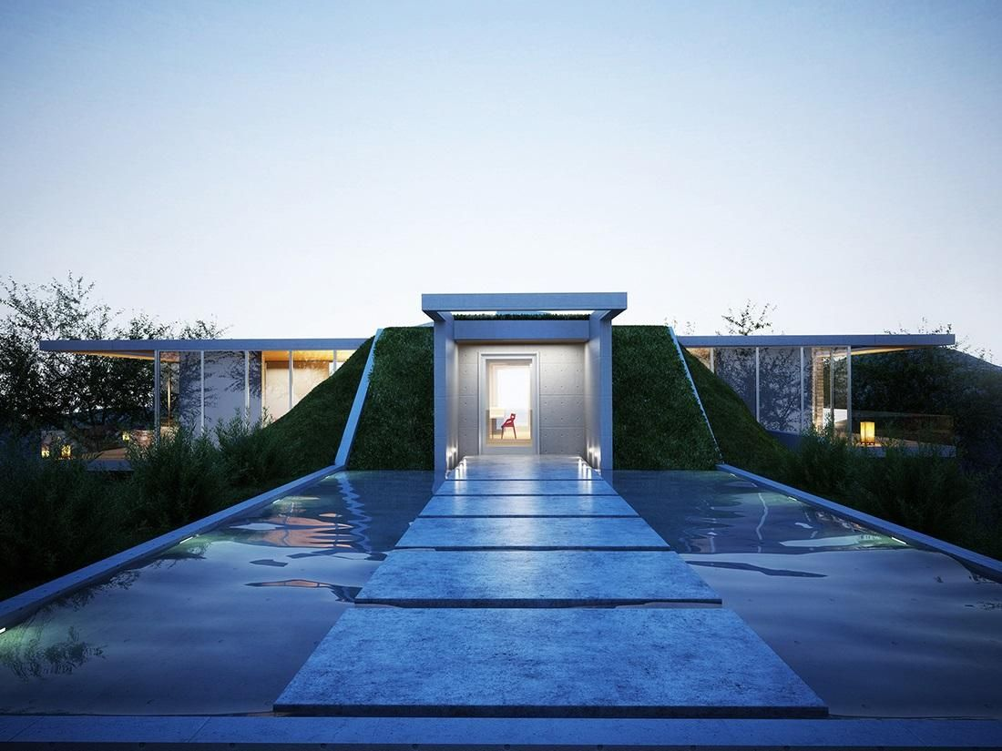 Earth #House by Molos Group #Architects | Architecture | Pinterest ...