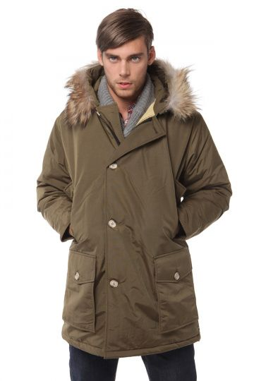 Woolrich Mens Arctic Anorak Parka Coffee   Duff warmth d26b9bbbeb
