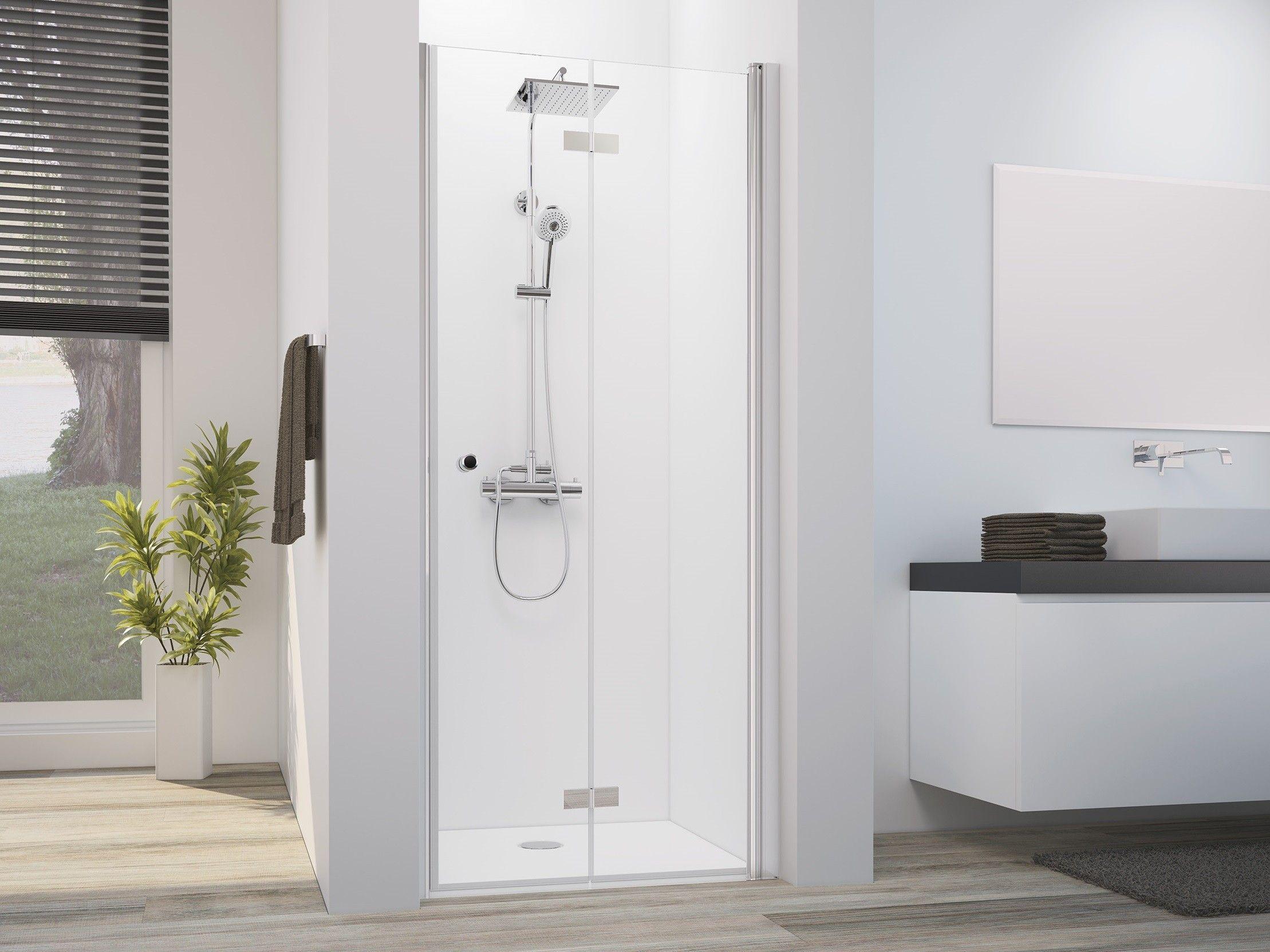 Dusche Drehfalttur Nische 70 X 220 Cm Bad Design Heizung Dusche Bad Design Duschabtrennung