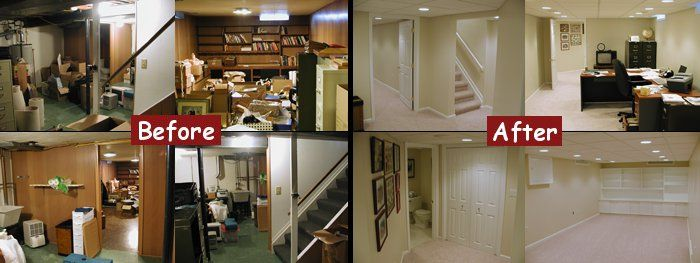 Paint Works Wonders To Update A Space Google Image Result For  Http://www.dbc Contractors.com/wp Content/uploads/2010/03/basement Finish  Before Aftu2026