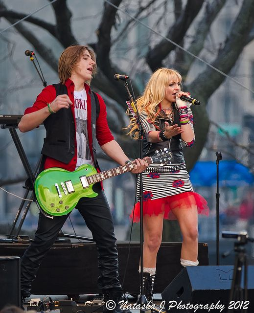 This is such an awesome picture! ♥ Rydel is the only person who could wear a tutu under a tight dress and look good ♥