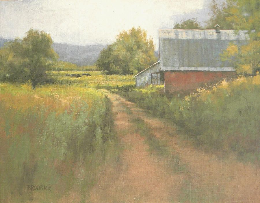 Late Summer Pasture Painting | Art, Fine art america, Painting