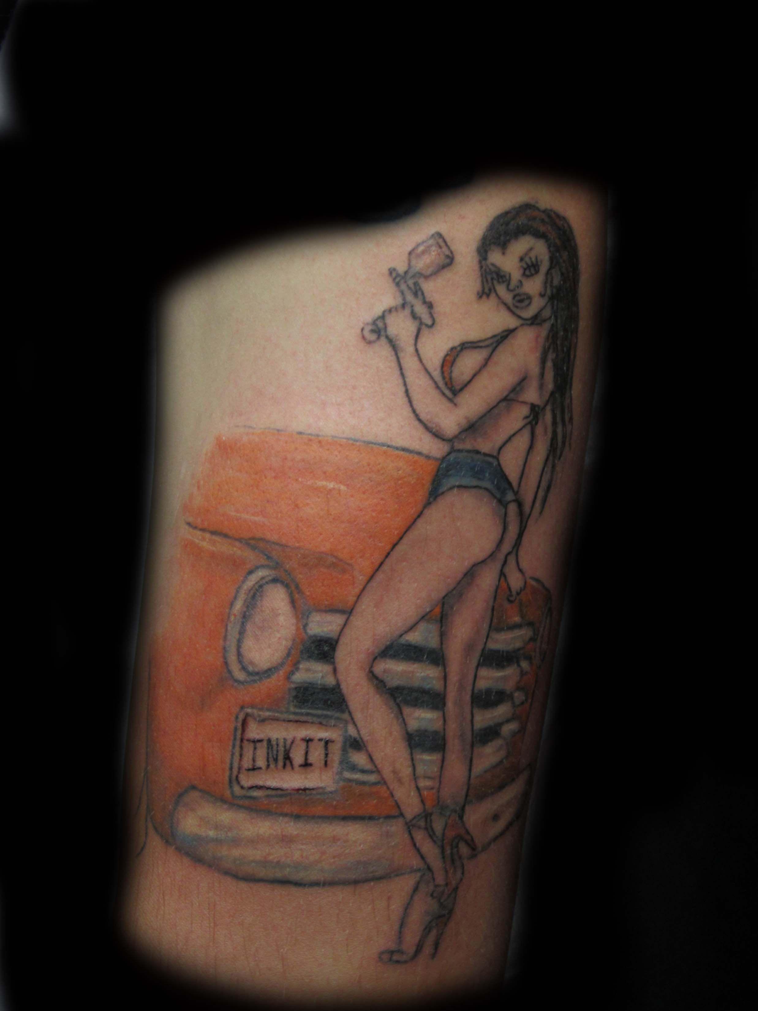 Tattoo old school tatuaggi old school pin up significato e foto quotes - Pin Up Tattoo Girl Tattoo Auto Body Tattoo Truck Tattoo Arm Tattoo