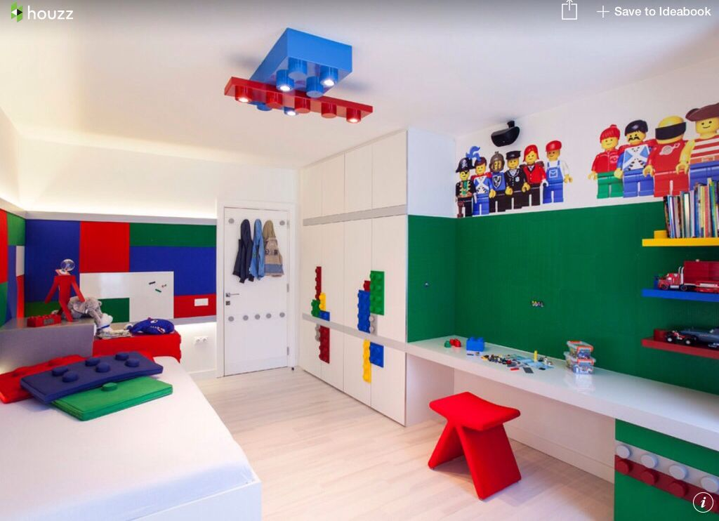 Superbe Cool, Very Cool Lego Bedroom For A Little Boy!