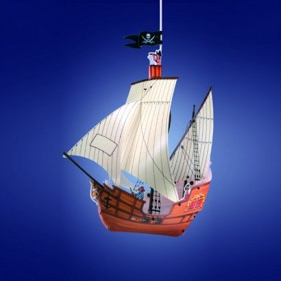 Pirate Ship Lamp Shade Pendant Ship Pendant Light Pendant Light Shades Light Shades