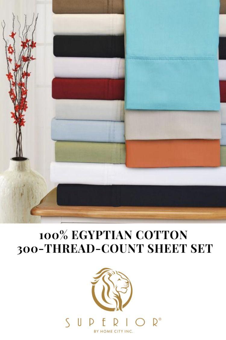 100 Percent 300 Thread Count Egyptian Cotton Sheet Set Cotton Sheet Sets Egyptian Cotton Sheets Sheet Sets 300 thread count egyptian cotton sheets