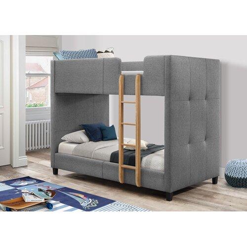 Garett Single Bunk Bed Zoomie Kids Cabin Bed With Storage