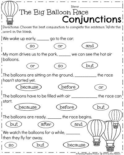 First Grade Worksheets For Spring First Grade Activities