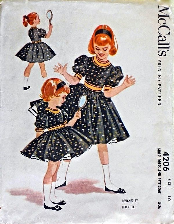 McCall's 4206 by Helen Lee © 1957.