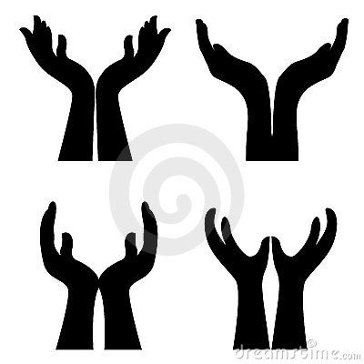 open giving hands clipart clipart panda free clipart images