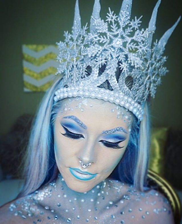 find this pin and more on costume makeup another ice queen