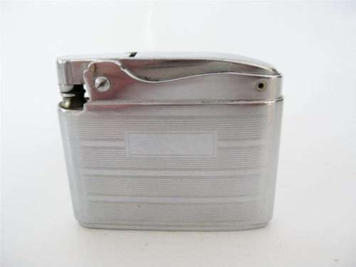 Vintage 1950s Ronson Adonis Lighter Chrome Art Deco $6.90 #ronson #artdeco