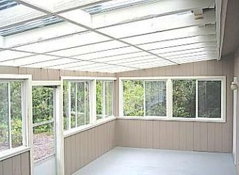 Elegant Enclosed Patio Room More