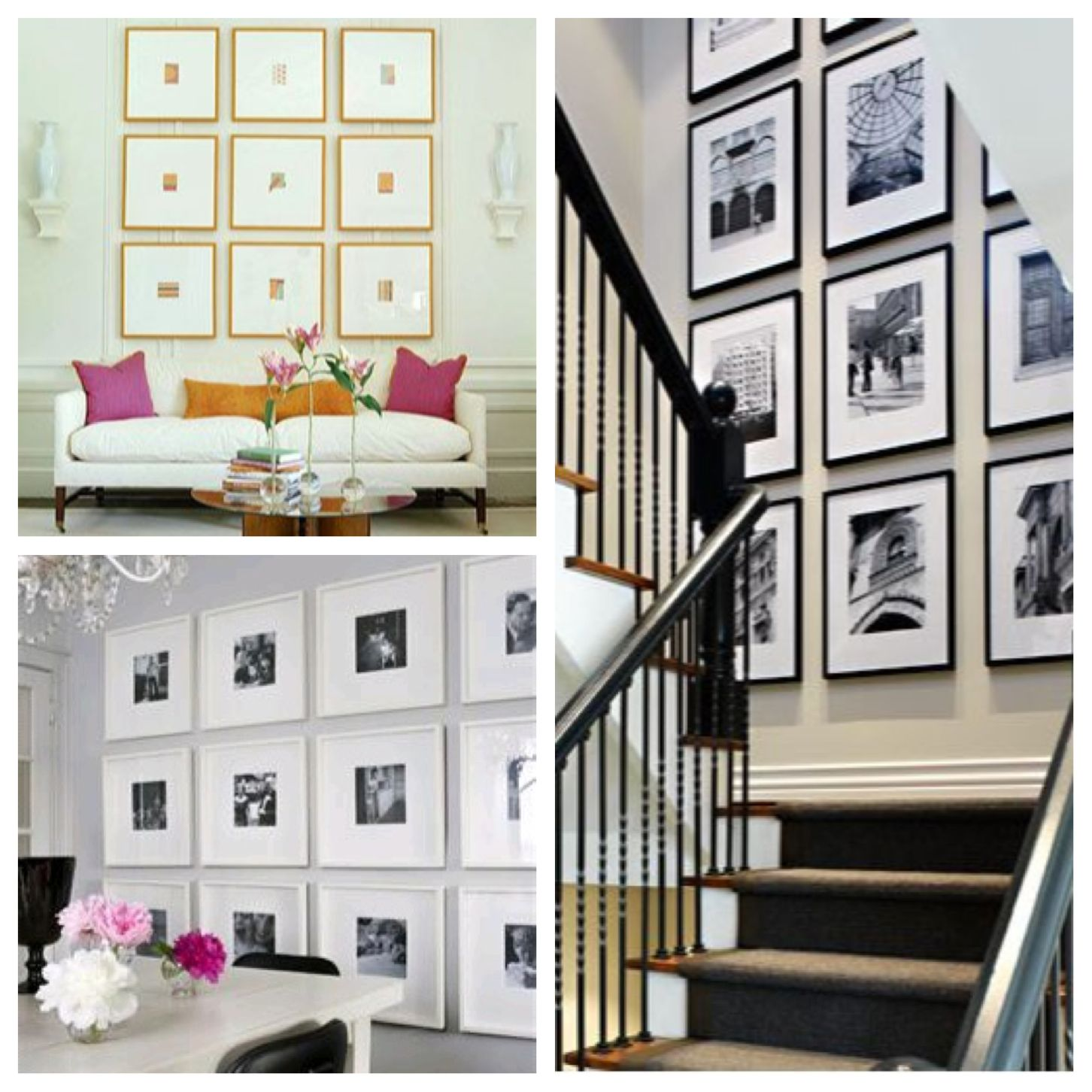 Gallery Wall Design gallery wall | how to arrange gallery on wall? | pinterest | photo