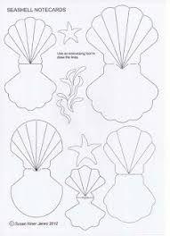 Seashell printable seashell free printable clipart templates.