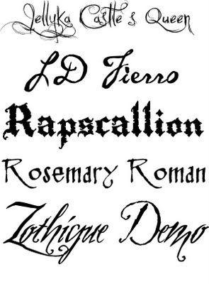 pirate font - Halloween Writing Font