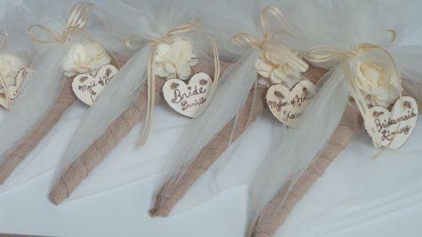 Name Wedding Dress Hanger Bridesmaids Gifts Rustic Por Jcbees