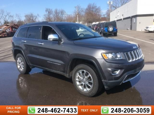 2014 Jeep Grand Cherokee Limited 36k Miles $29,147 36746 Miles 248 462 7433  Transmission