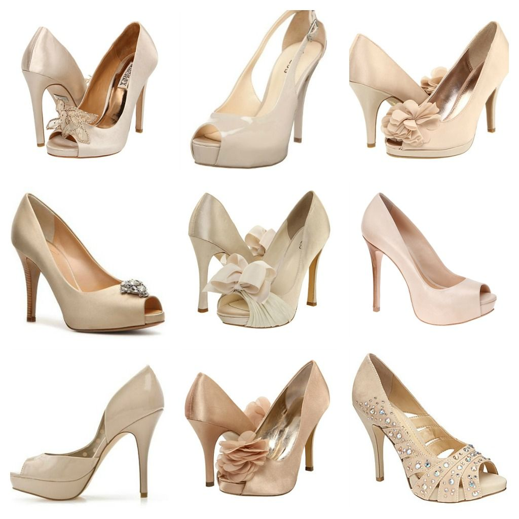Pretty Little Bridesmaids Shoes Peep Toe Would Be Appropriate For