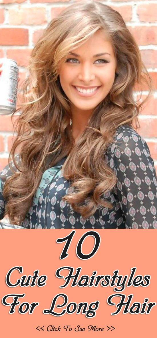 Top 10 Cute Hairstyles For Long Hair. Nearly my natural color in the summer.
