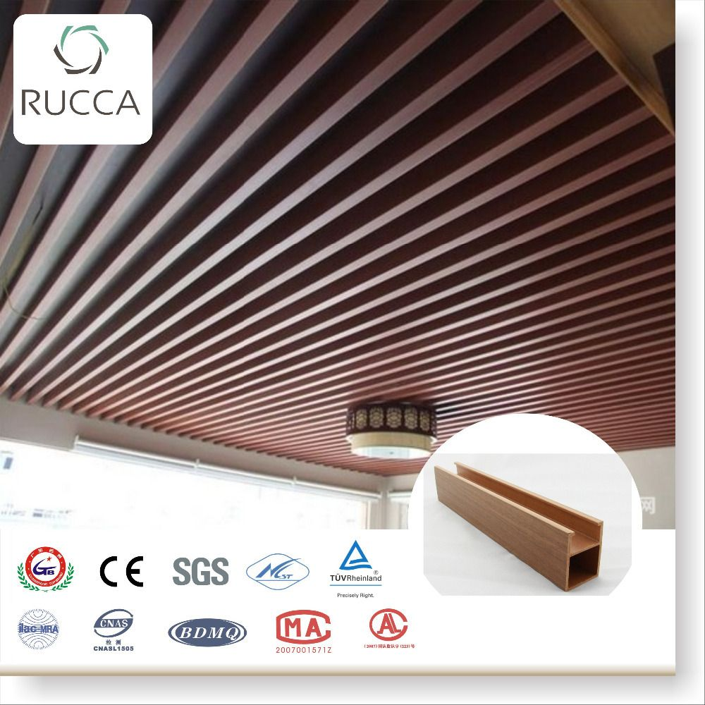 Foshan Ruccawood Wpc Indoor Decorative Suspended Ceiling Panel,Pvc False  Ceiling Design For Bedroom 60*55mm   Buy Ceiling Panels,Indoor Decorative  Ceiling ...