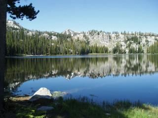 The Trinity Lakes are a popular hiking and camping