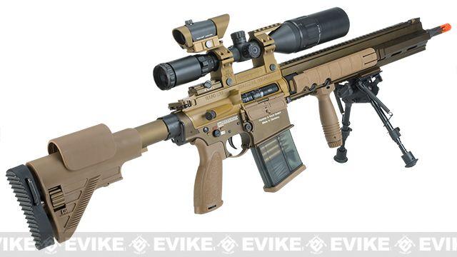 Resultado de imagem para designated Marksman Rifle airsoft