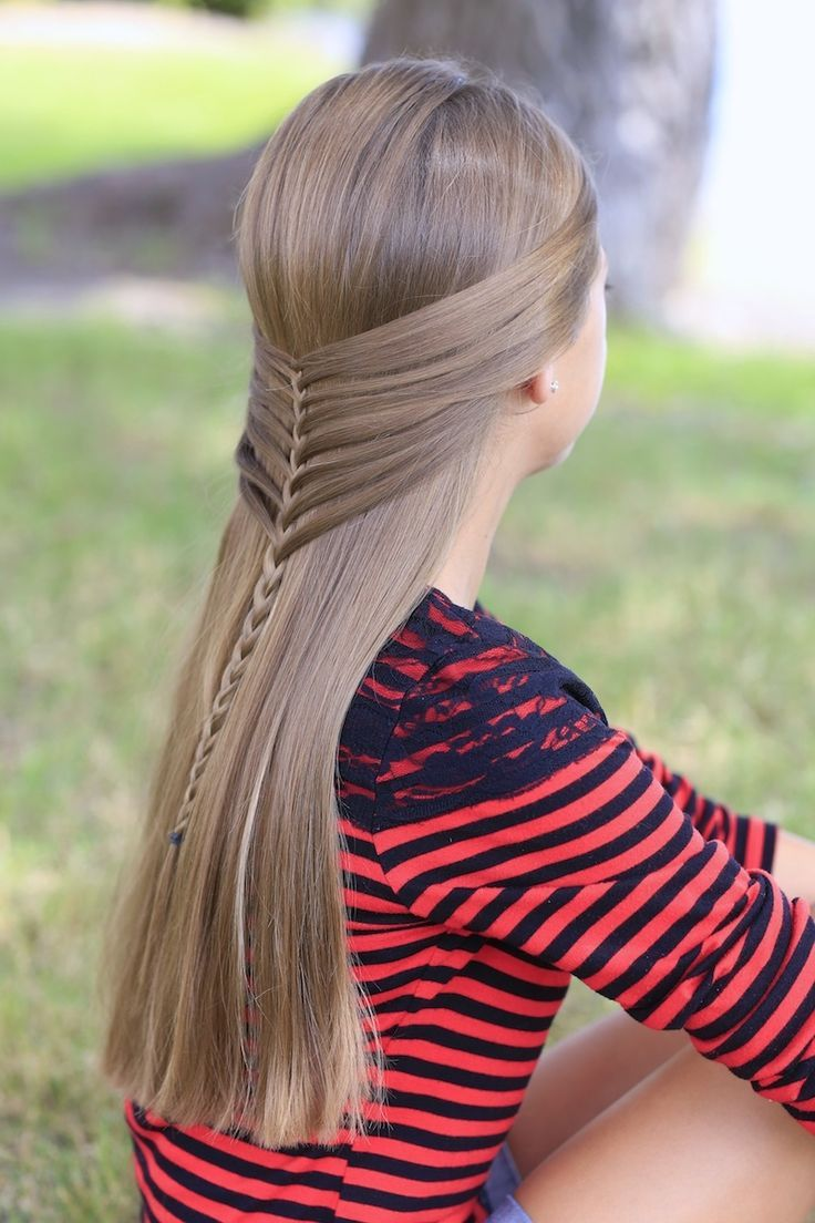 Easy tutorial for the gorgeous mermaid half braid hairstyles