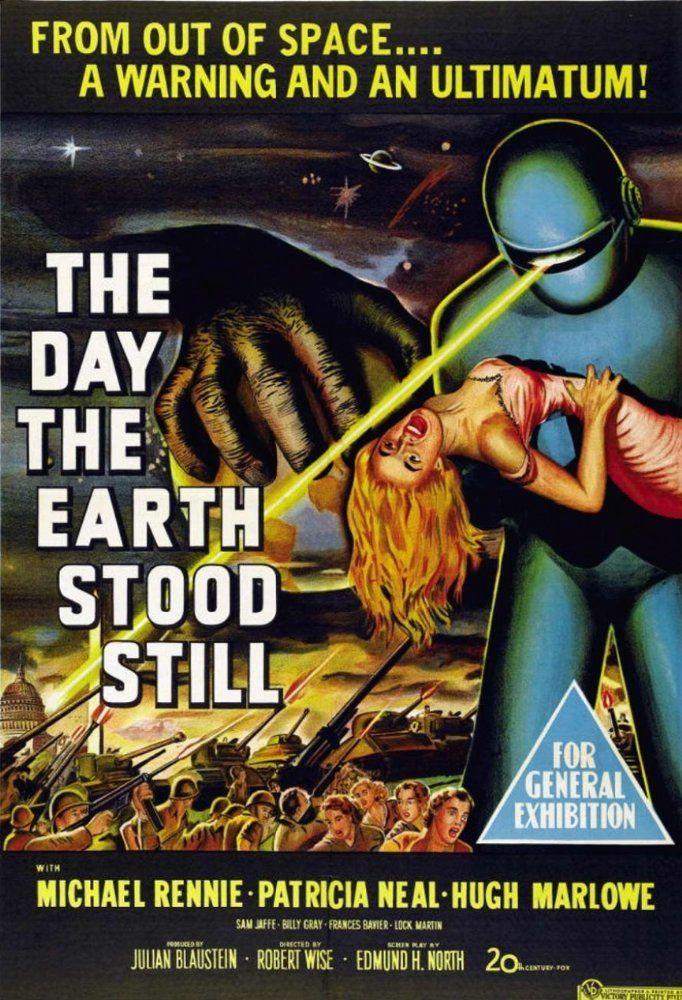 The Day the Earth Stood Still (1951) 3.5/5 Science