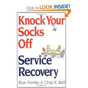 Knock Your Socks Off Service Recovery By Ron Zemke 17 95 Author Ron Zemke Publication May 26 2000 Reading Level Ages 17 A Reading Levels Books Reading