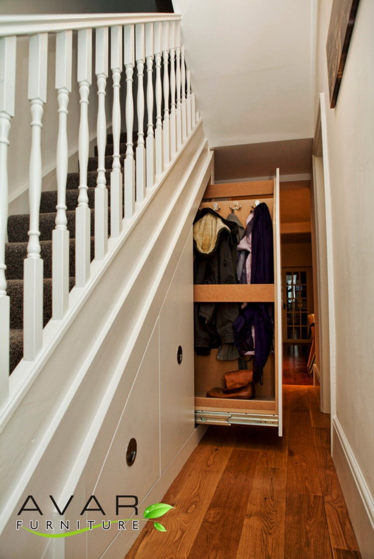 Stairs Shelving Under Stairs Shelving Solutions From Avar Furniture