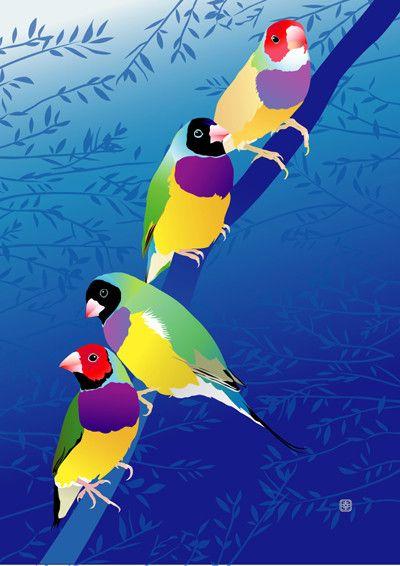 2011年 第3回個展 BIRD LOVE展出品作品|ハンドメイド、手作り、手仕事品の通販・販売・購入ならCreema。