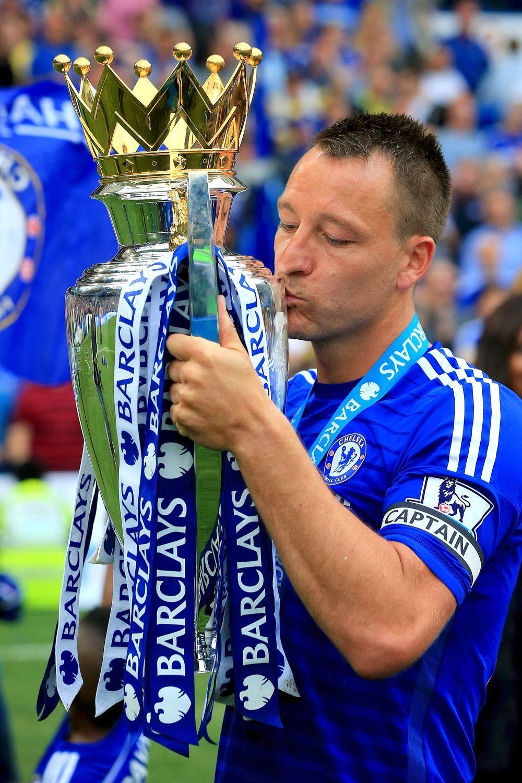 John Terry has won four Premier League titles during his