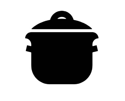 Cooking Pot Icon In Android Style This Cooking Pot Icon Has Android Kitkat Style If You Use The Icons For Android Apps We R Icon Black Girl Art Android Icons