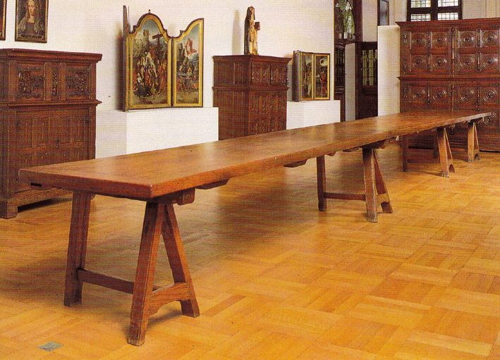 st. thomas guild - medieval woodworking, furniture and other, Esszimmer dekoo