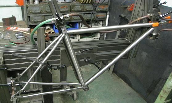 Adjustable Bike Frame Jig Bike Frame Bicycle Frame Build Your