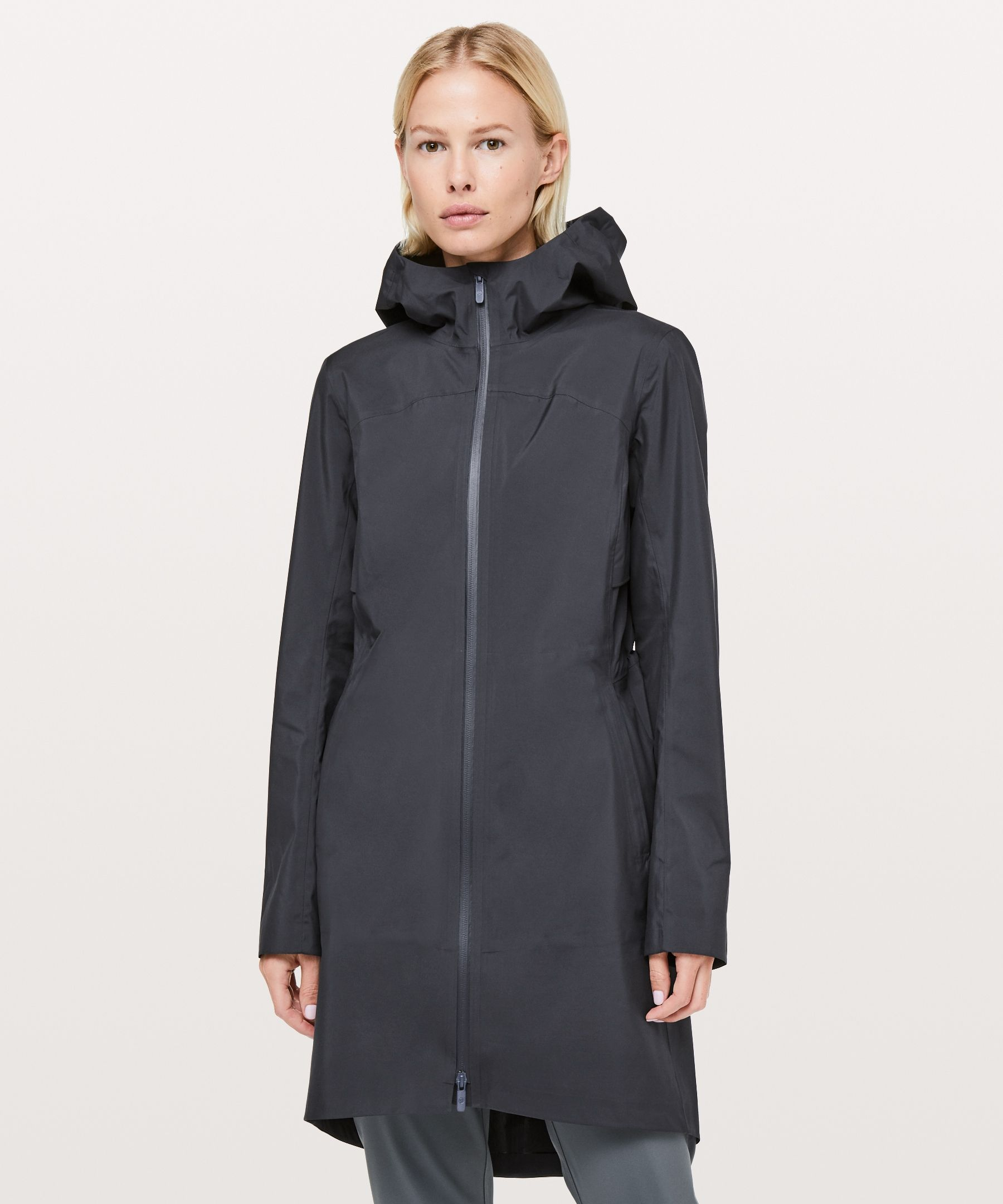 62d9fd4f Lululemon Rain Rules Jacket - Lightweight, waterproof, and breathable, this  tailored rain jacket is the ideal everyday piece to keep you dry when  you're on ...
