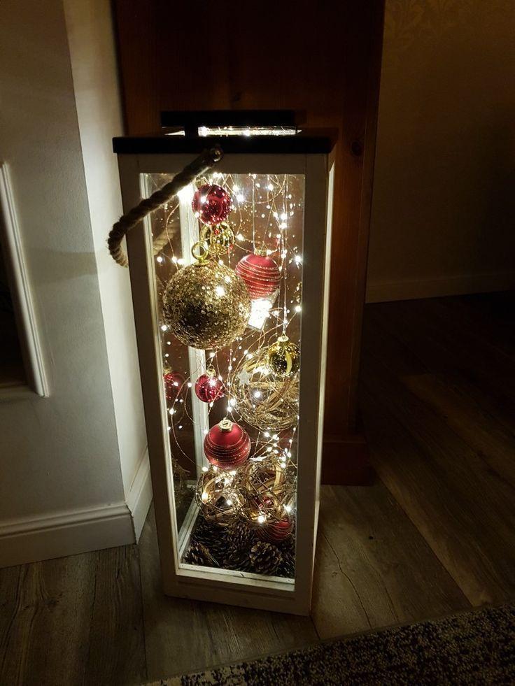 Weihnachtslaterne #adventskranzideen Weihnachtslaterne, #Weihnachtslaterne   - C...
