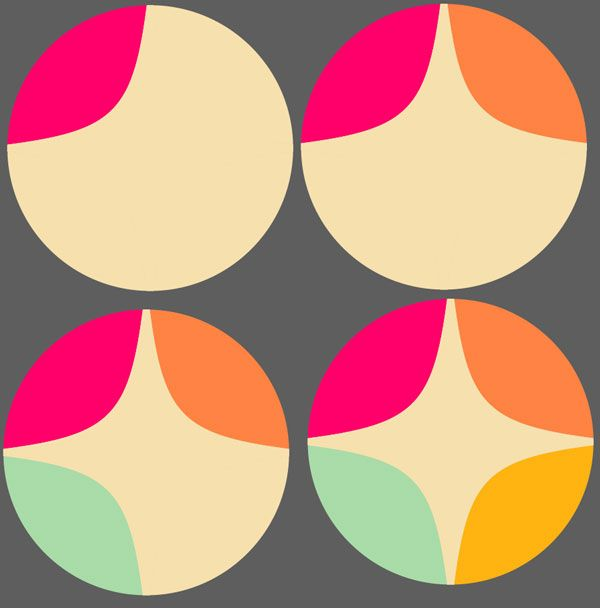 How to Create a Bright Geometric Circle Pattern in Adobe ...