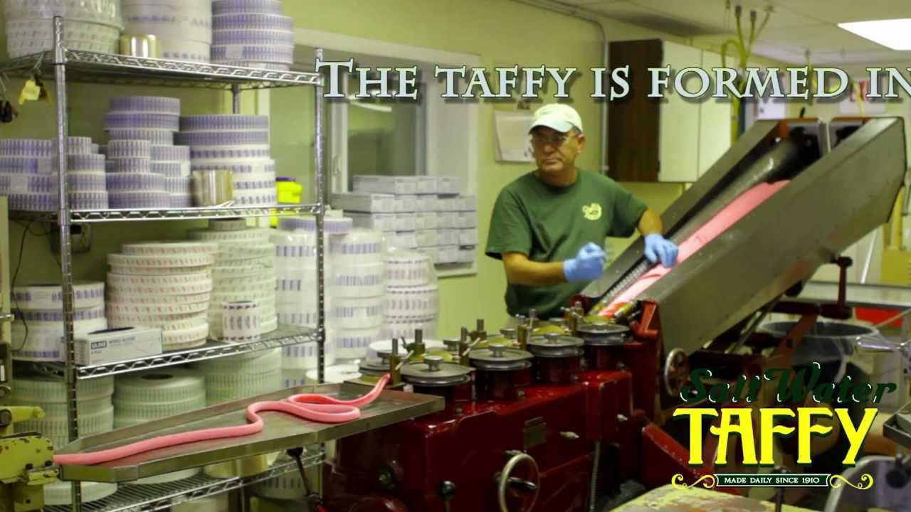 If you love salt water taffy, you have to see how it's made! #ocmd