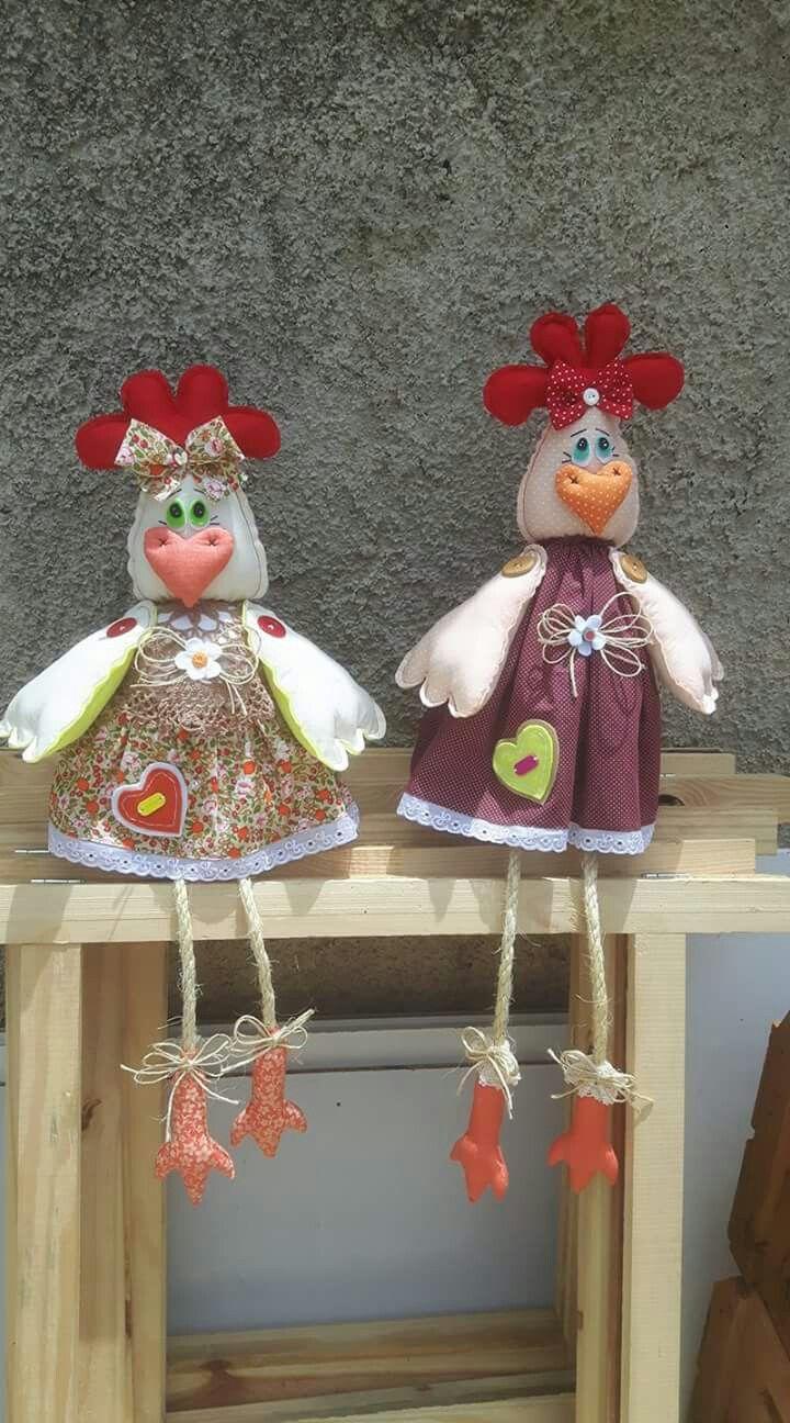 Pin De Marta Bernardino Em Feltro Chicken Crafts Chicken