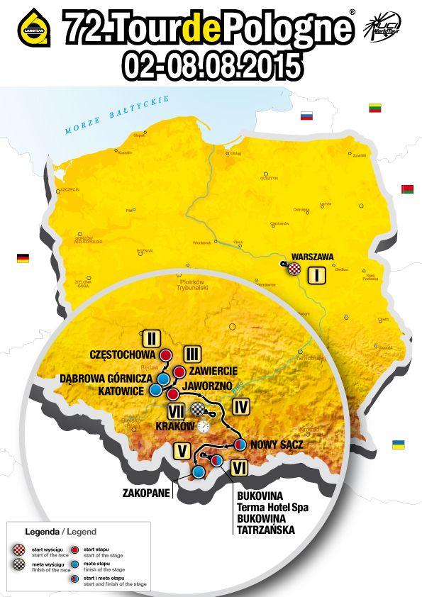 2015 Tour of Poland August 2 thru 8