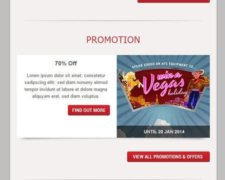Psd To Responsive Email Template For Mailchimp Or Any